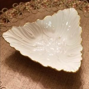 Lenox Triangular candy dish